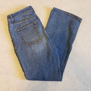 Medium Wash Straight Leg Jean